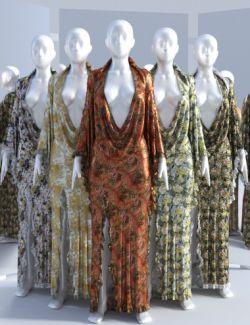 dForce Femme Fatale Dress Textures