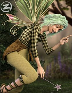 Z Forest Spirit- Poses and Expressions for Genesis 8 Female and Edie 8