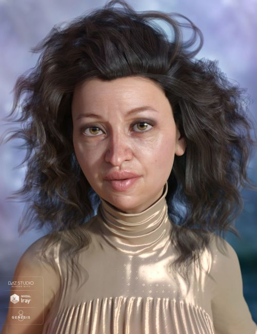 Stella Hair for Genesis 3 and 8 Female(s)