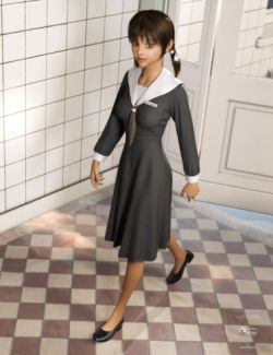 dForce Nursing Student for Genesis 8 Female(s)