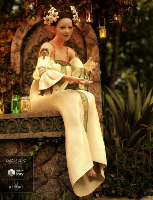 dForce Muse Dress for Genesis 8 Female(s)