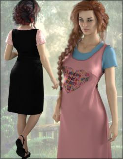 dForce Maternity Dress Textures