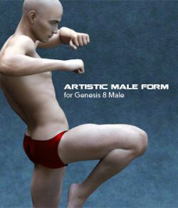 Artistic Male Form for Genesis 8 Male