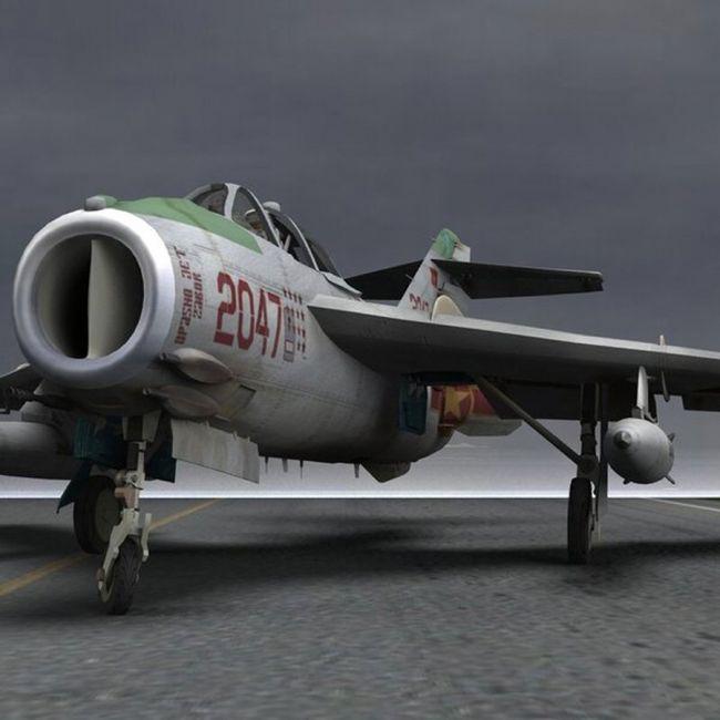 MiG-17 Fresco F - for Poser