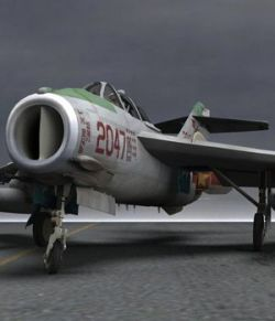 MiG-17 Fresco F- for Poser