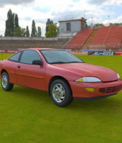 Chevy Cavalier 1998 for 3ds and obj - Extended License