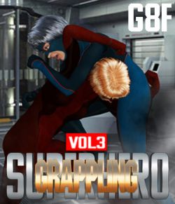 SuperHero Grappling for G8F Volume 3