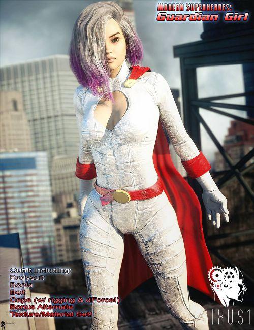 Modern Superheroes: Guardian Girl