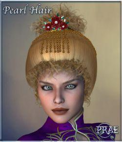 Prae-Pearl Hair for V4 Poser