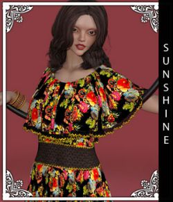 Sunshine for Fiona Dress