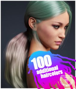 Sleek Ponytail Hair Texture XPansion