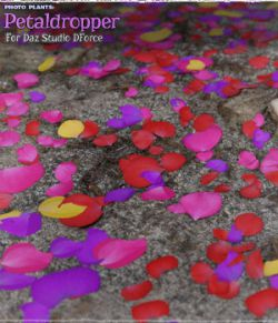 Photo Plants: Petaldropper for Daz Studio DForce