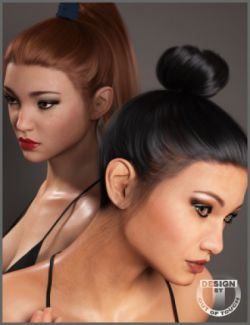 Zola Hair for Genesis 3 and 8 Female(s)