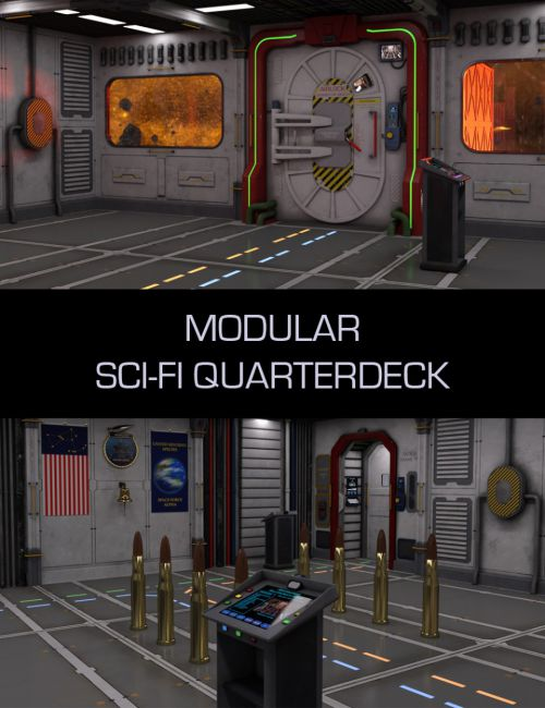 Modular Sci-Fi Quarterdeck