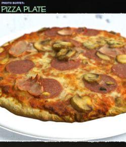 Photo Buffet: Pizza Plate