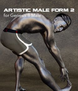 Artistic Male Form 2 for Genesis 8 Male
