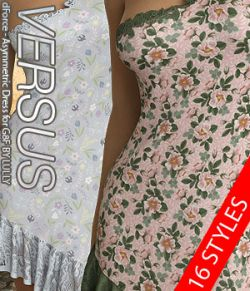 VERSUS- dForce- Asymmetric Dress for G8F