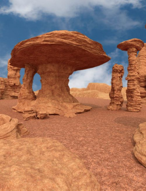 Morphing Rock Structures with HD Morphs