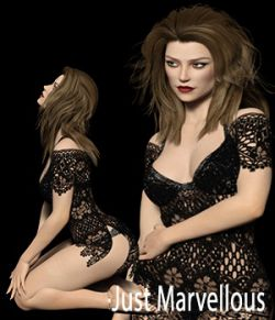 Just Marvelous - Poses for G8F