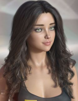 Delphi Hair for Genesis 3 & 8 Female(s)