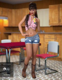 Betty Lou Outfit for Genesis 8 Female(s)
