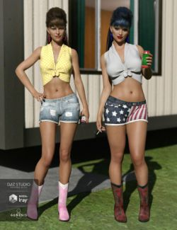 Betty Lou Outfit Textures