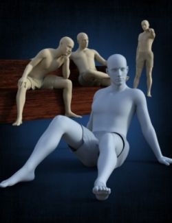 Lazy Poses for Genesis 8 Male