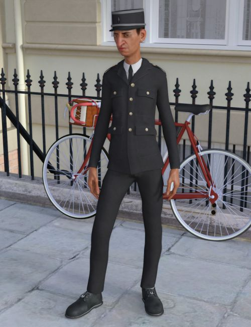 Inspector Uniform for Genesis 8 Male(s)