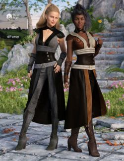 dForce Greenborough Adventure Outfit Textures