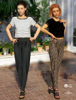 dForce Liberte Outfit Textures