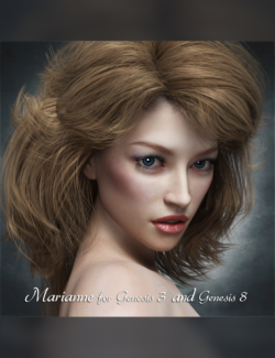 Marianne for Genesis 3 and 8 Female