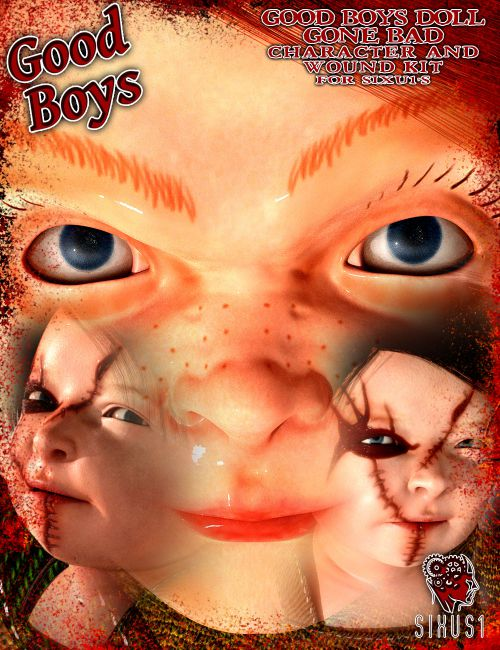 Good Boys Doll Gone Bad: Character and Overlays for S1M's The Baby for G8F