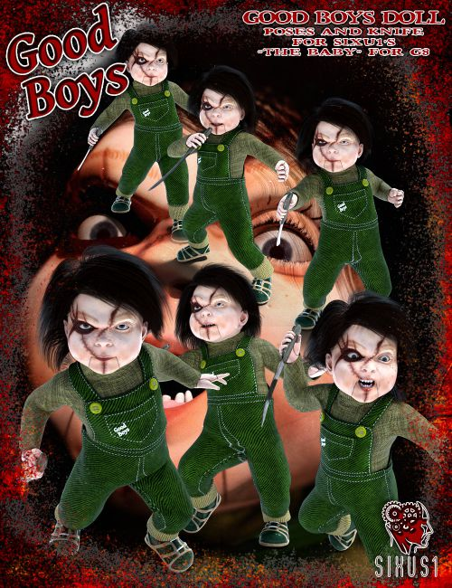 Good Boys Doll Mini Pose Pack