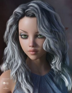 Bronwyn Hair for Genesis 3 & 8 Female(s)