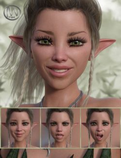 A Nice Fairy- Expressions for Genesis 8 Female and Mika 8