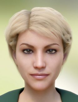 Morena Hair for Genesis 3 and 8