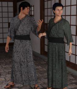 dForce Yukata for Genesis 8 Male