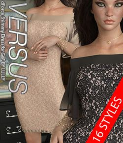 VERSUS- dForce Shimmy Dress for G8F