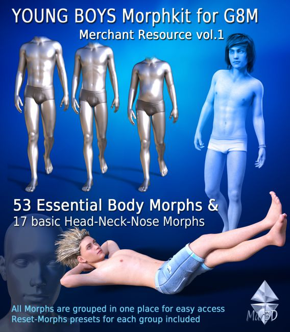 Young Boys Morphkit for G8M - Merchant Resource 1