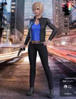 Manhattan Detective for Genesis 8 Female(s)