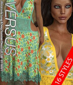 VERSUS - dforce only Long & Sexy Summer Dress G3F G8F