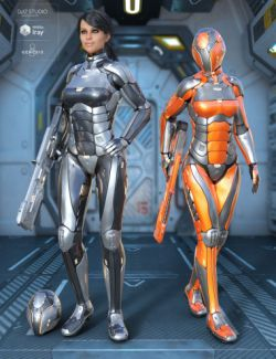 Leviathan Suit for Genesis 8 Female(s)