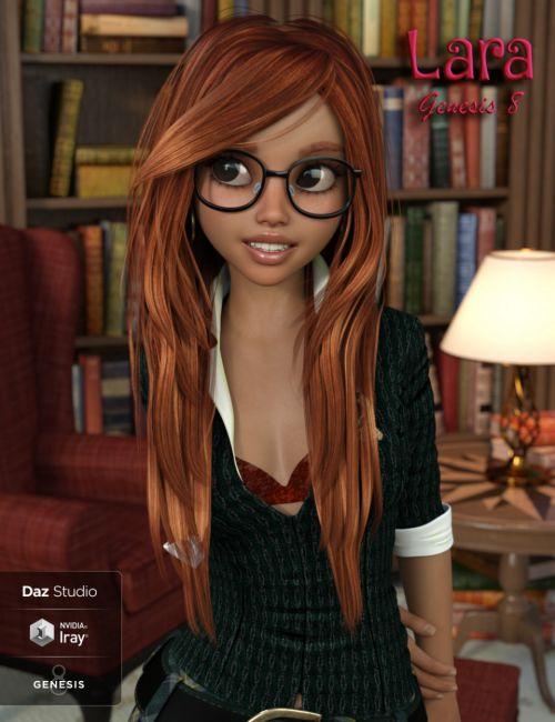 Lara for Genesis 8 Female