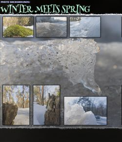 Photo Backgrounds: Winter meets Sring