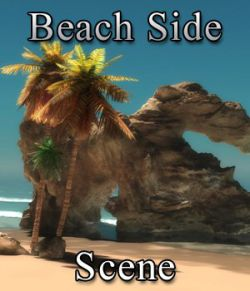 Beach Side Scene (for Vue)