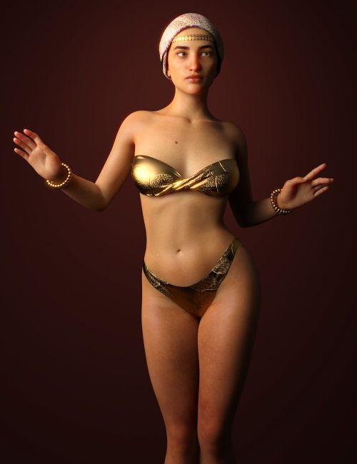 Messy Leia For Genesis Female Daz Models Images 1