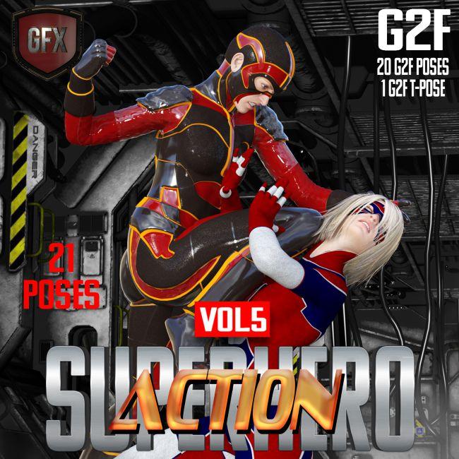 SuperHero Action for G2F Volume 5