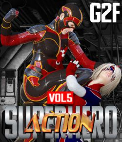 SuperHero Action for G2F Volume 5