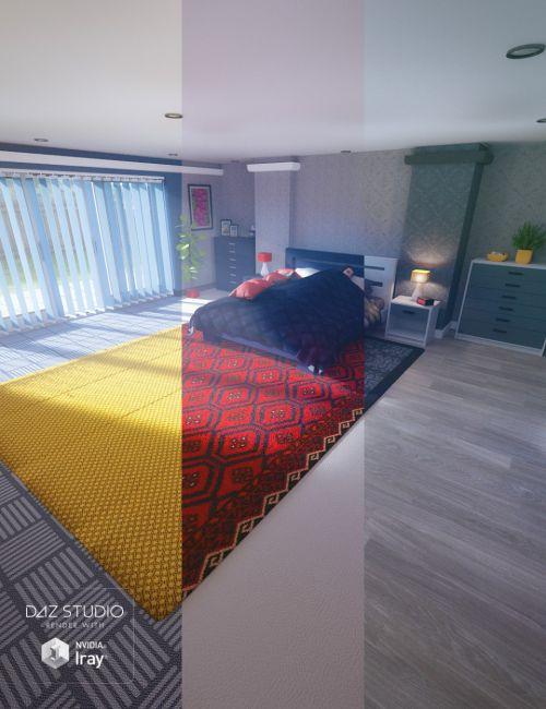 Granite Bedroom Textures