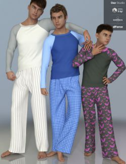 dForce PJs for Genesis 8 Male(s)